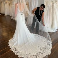 Who's going wedding dress shopping with you? - 1
