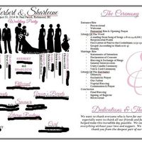day of timelines and wedding programs