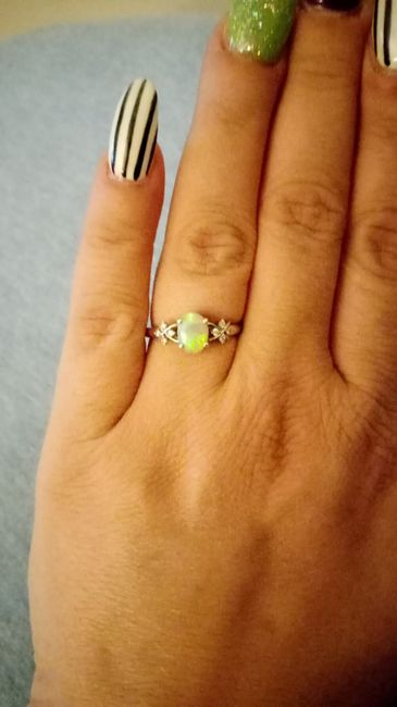 Show off your rings! 10