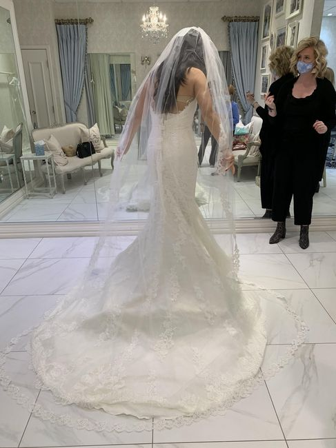 Cancelling our wedding.  What do i do with my wedding dress and veil? 3