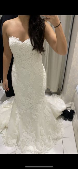 Cancelling our wedding.  What do i do with my wedding dress and veil? 2