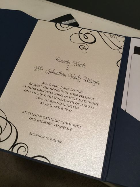Should our last names be on our invitations? 4