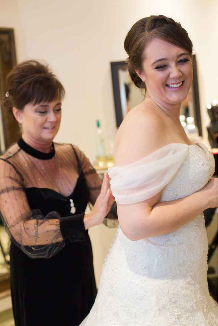 Show Me Photos: Brides and their Moms at the Wedding - 1