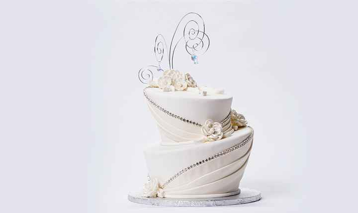 Wedding Cakes Without Flowers 12