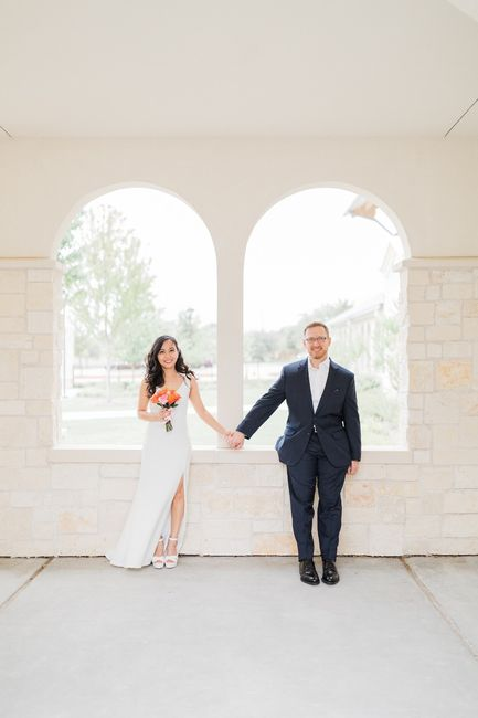 Our simple church wedding blessing 3