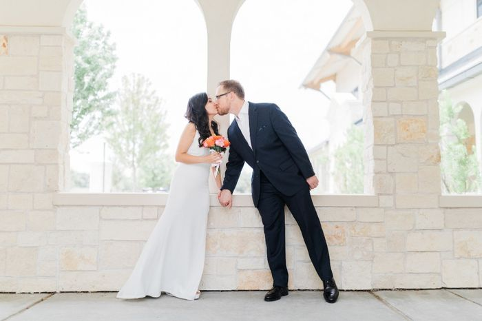 Our simple church wedding blessing 1