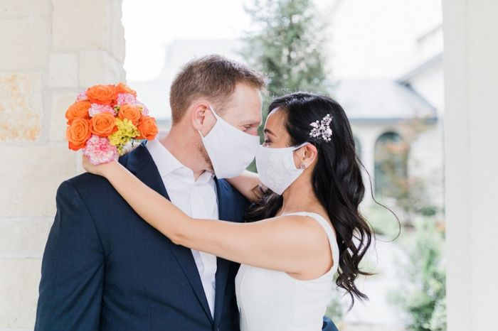 Our simple church wedding blessing 4