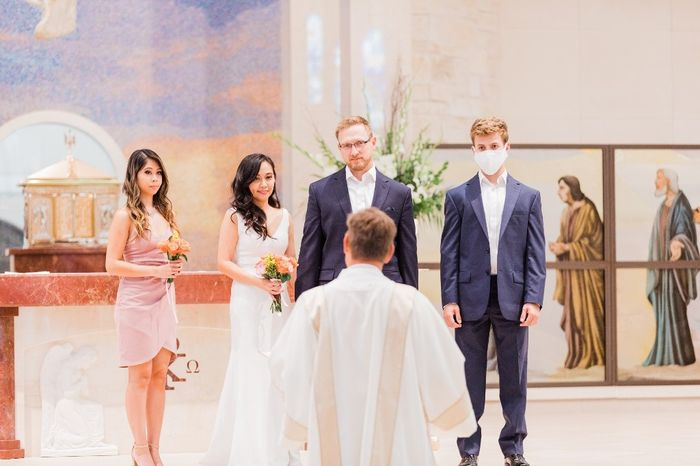Our simple church wedding blessing 6