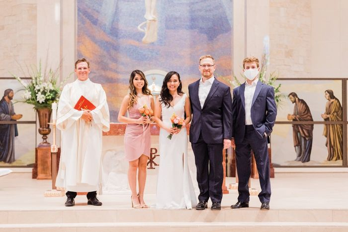 Our simple church wedding blessing 7