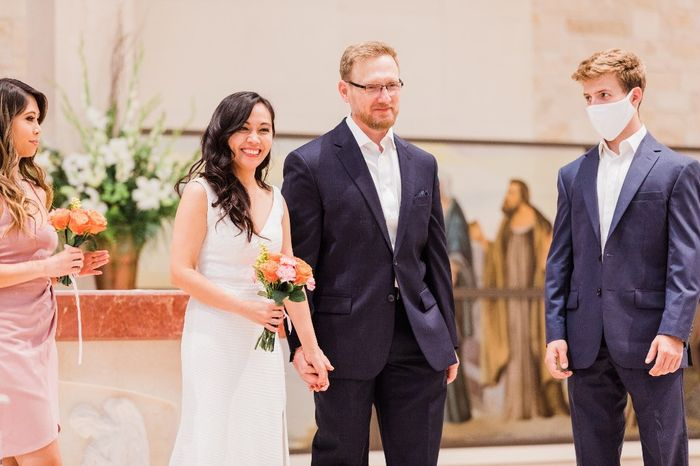 Our simple church wedding blessing 9