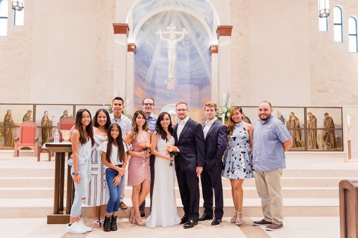 Our simple church wedding blessing 10