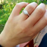 Anyone get crap for the size of their engagement ring?