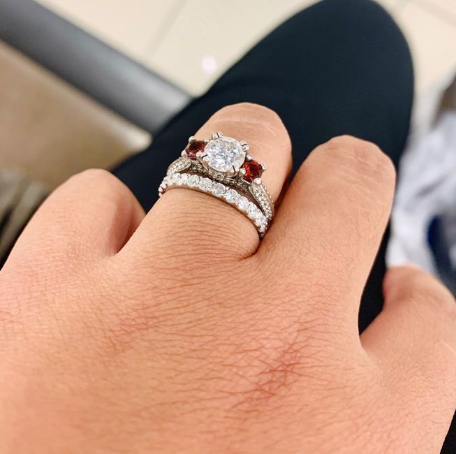 Show me your wedding bands! 😍 4