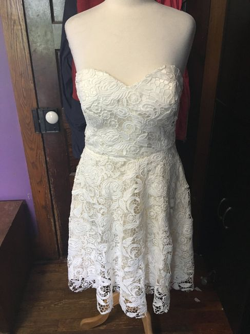 Second thoughts on non traditional wedding dress 2