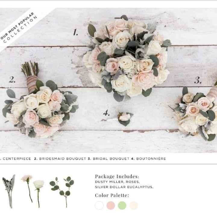 Bridal Bouquet, white or color?