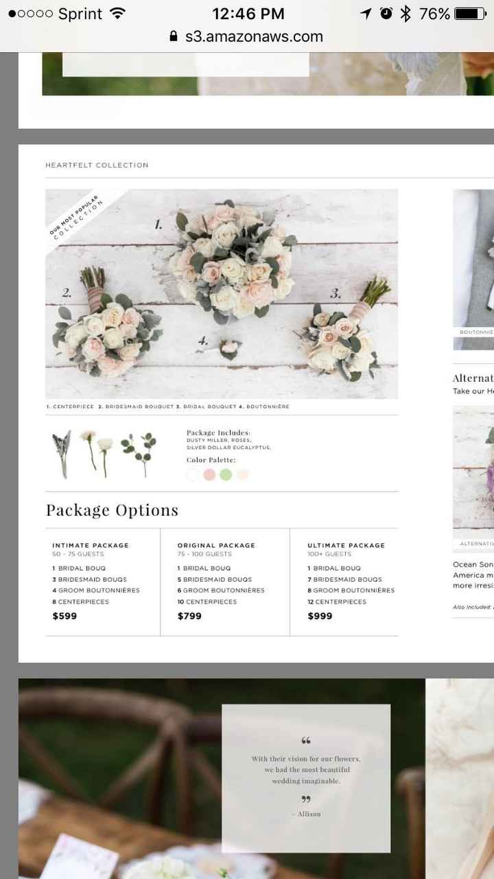 Have you ordered your flowers from Bouqs?