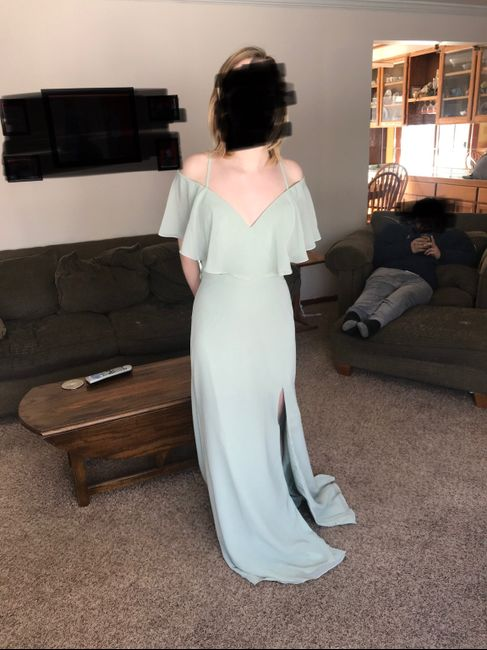 Bridesmaid dresses are in! 3