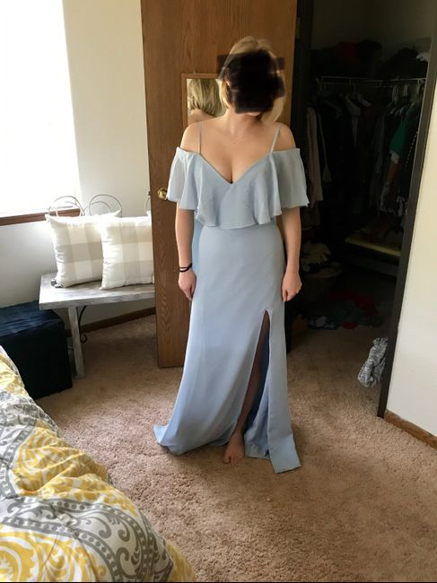 Bridesmaid dresses are in! 5