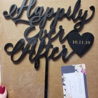 Cake toppers! - 1