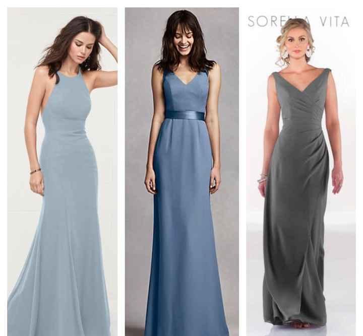 Show Off Your Bridesmaids Dresses! - 1