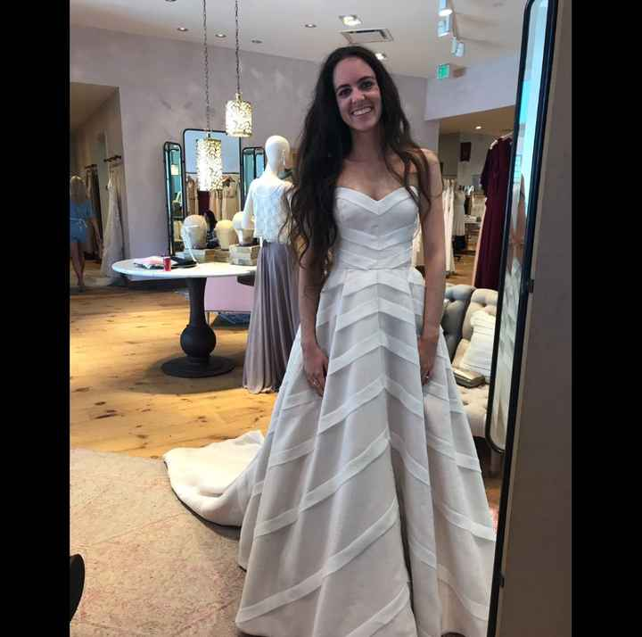 Show me your dresses! Just said yes to mine!! - 1