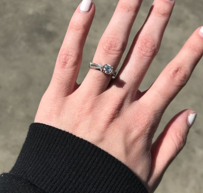 Brides of 2019!  Show us your ring! 6