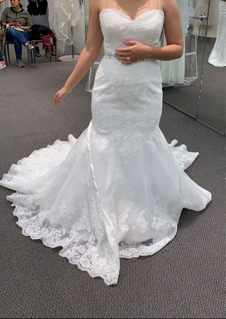 After already buying a dress.. i went back and chose another. 1