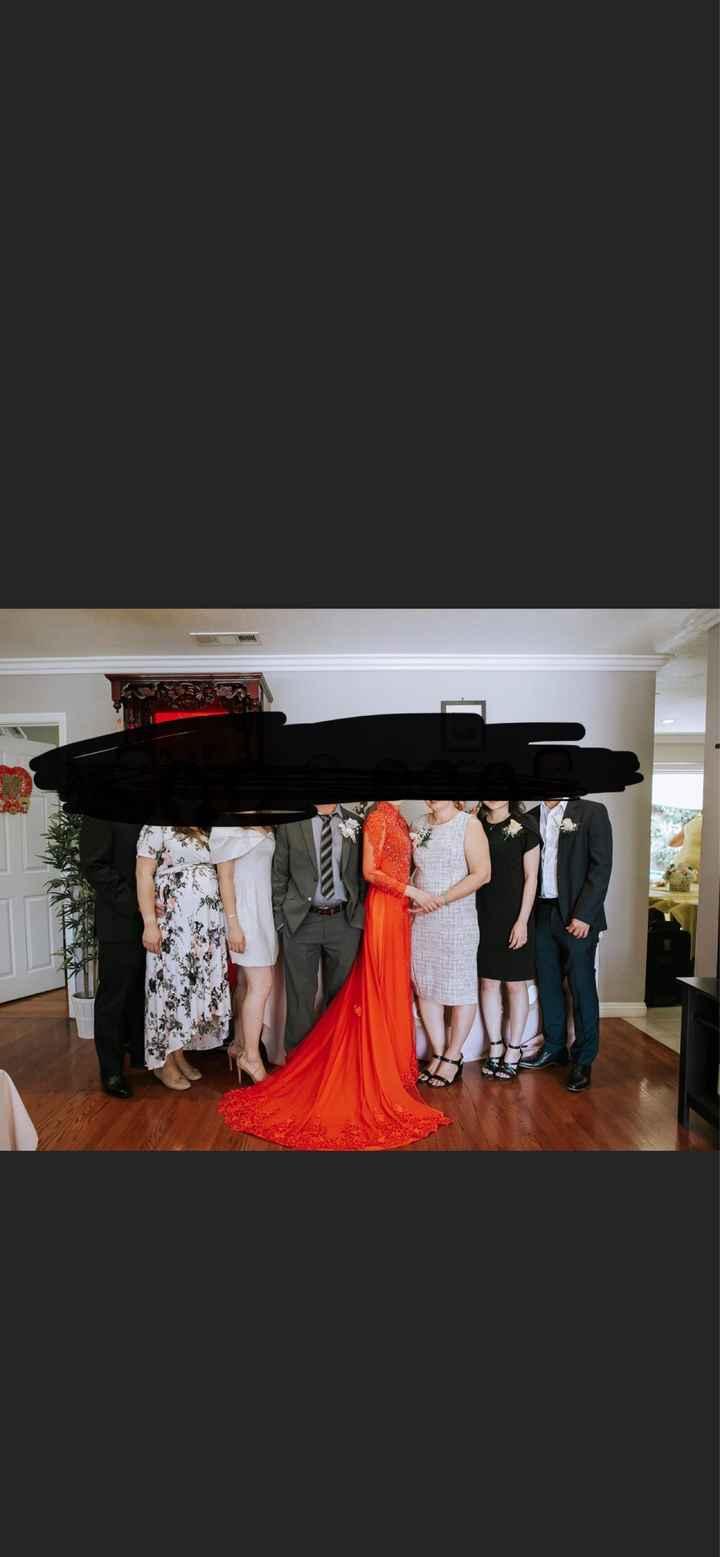 Dress drama. - 2