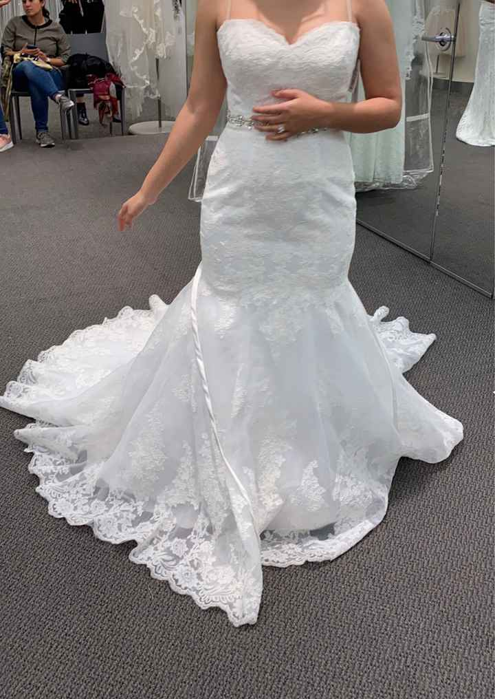 After already buying a dress.. i went back and chose another. - 1
