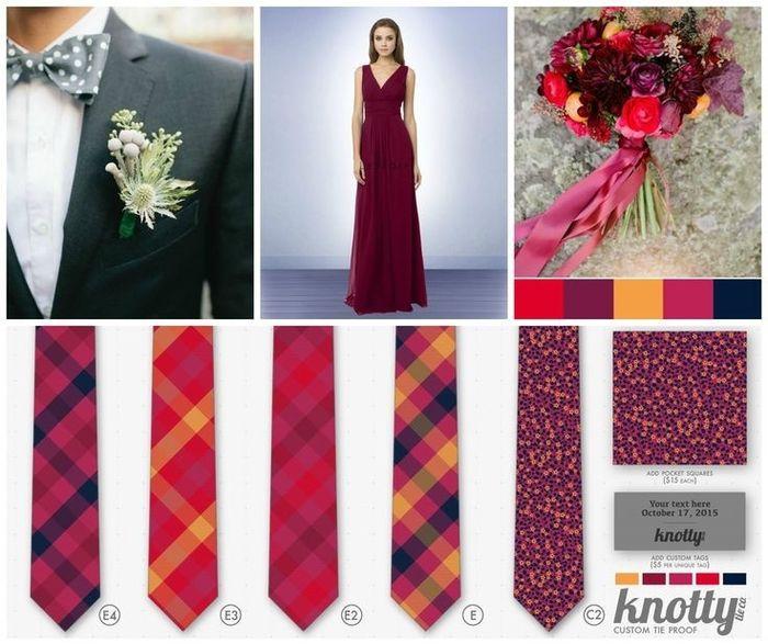 a68b508186c0 Custom ties for Groom and Groomsmen? | Weddings, Wedding Attire ...