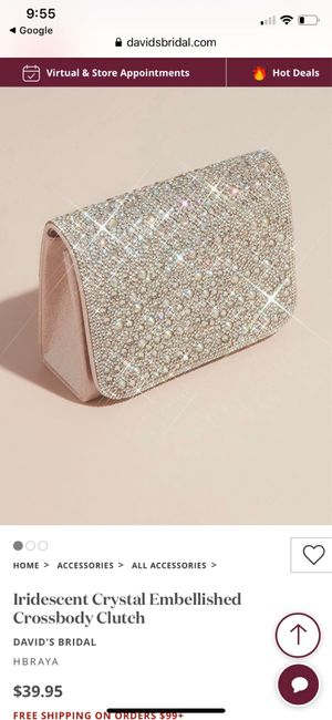 Show me your wedding day purse! 6