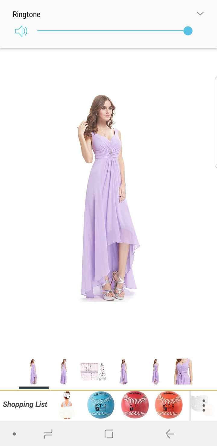Share your bridesmaid's dresses? - 1