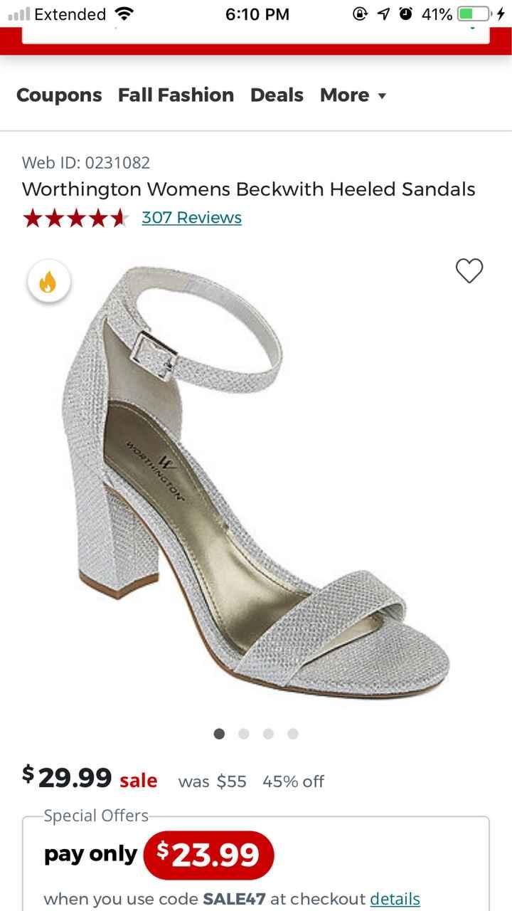 Wedding Dress/shoes - 1