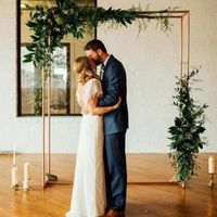 Backdrop or No Backdrop for outdoor ceremony? - 1