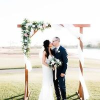 Backdrop or No Backdrop for outdoor ceremony? - 2