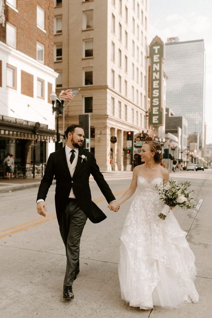 Pro-bam! Pics from October wedding 7