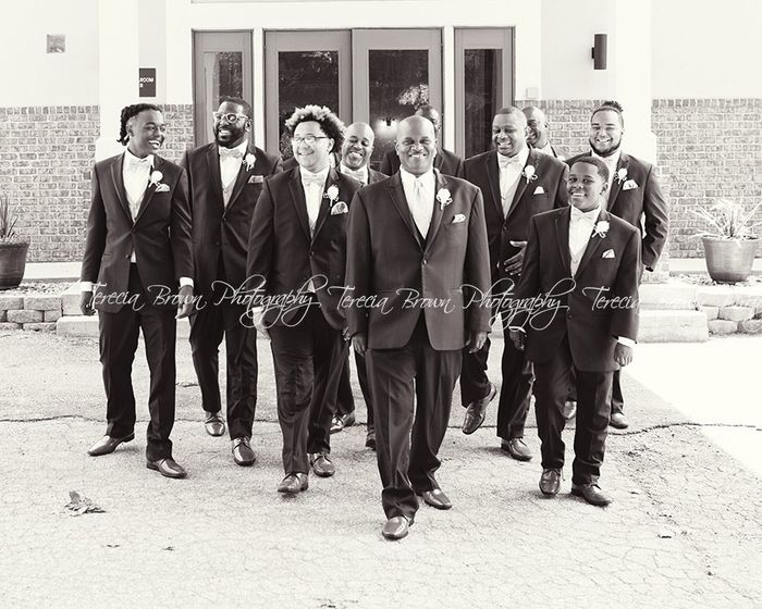 My wedding day 4