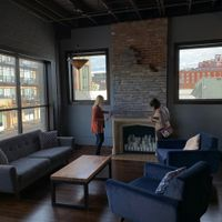 Industrial/rustic Reception Venue + Decor - 1