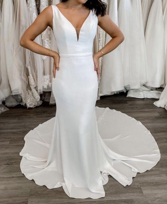 Wedding Dress - Too Plain? 1