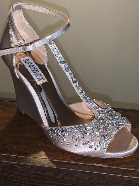 Curious what everyone's wedding shoes look like? 1