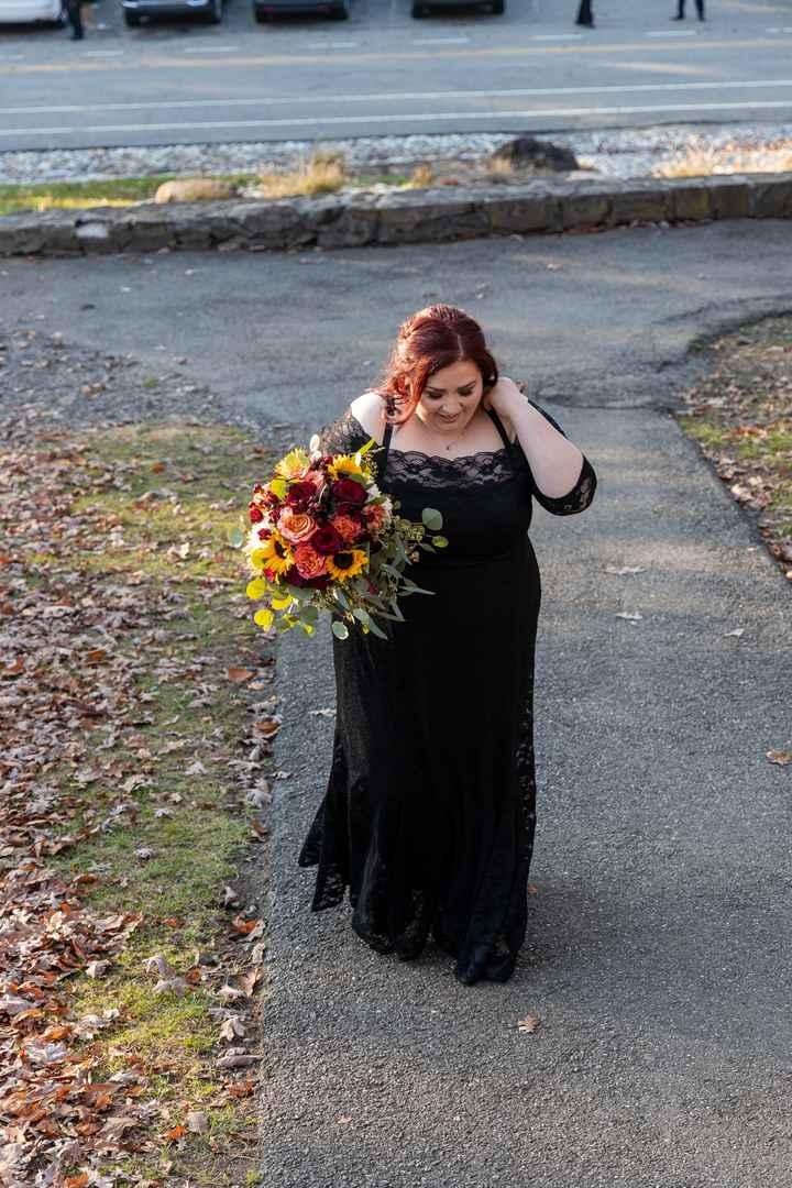 Halloween wedding, is finally over. - 1