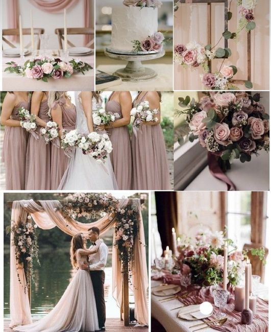 What colors did you choose for your wedding? 15