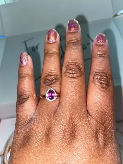 Can i start a new ring thread! Let's see that bling! 10