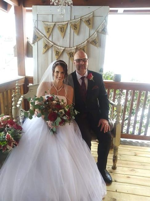 We're married! 1