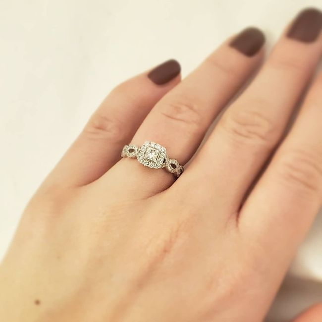 Brides and brides to be! i want to see your wedding bands or ideas for wedding bands! 1