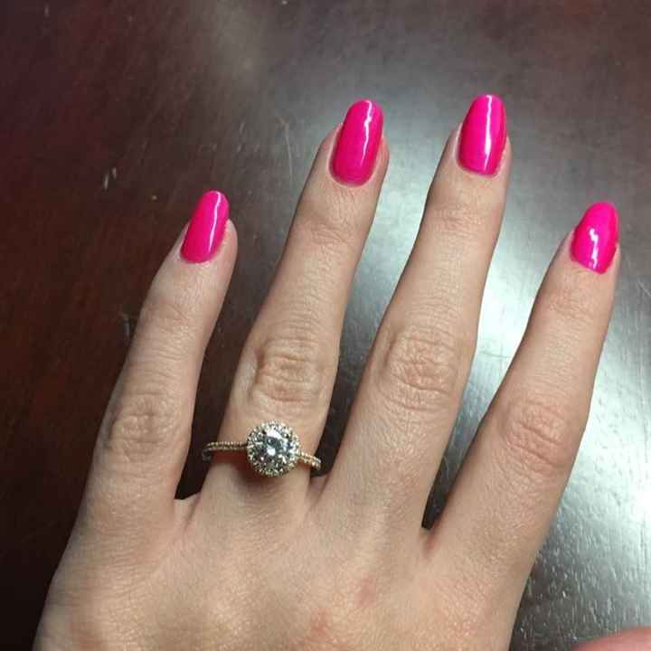 Let me see your gorgeous rings!