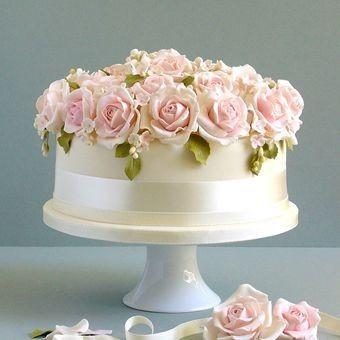 One Tier Wedding Cake Design Idea Weddings Planning Wedding