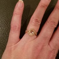 Morganite rings - 1
