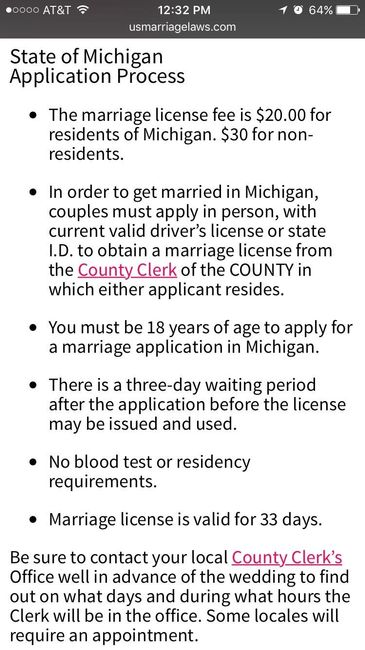Do I Apply For Marriage License In County I Live In Or Getting