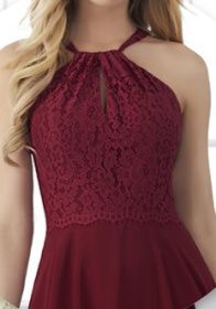 Bridesmaid dress top (front)